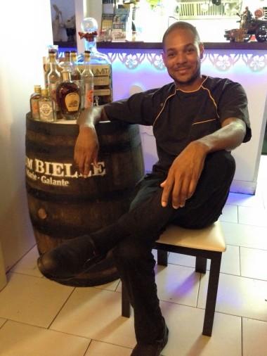 Chef Ruddy Colmar (Photo Facebook : Au Widdy's)