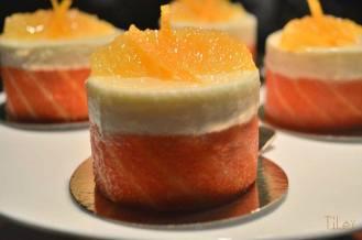 Mousse chocolat blanc à l'orange