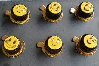 Emoticakes: chcocolat/passion