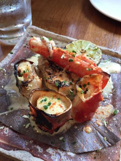 Zuma- Leg Crab with lemon butter